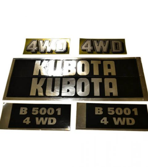 Stickerset Kubota B5001 4WD