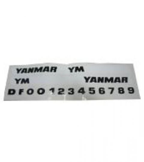 Stickerset Yanmar
