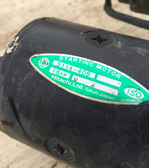 Startmotor Yanmar F18